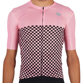 Sportful Checkmate Jersey Men, pink